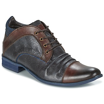 Shoes Men Mid boots Kdopa HELSINKI Brown / Blue