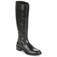 Shoes Women Boots Unisa EDUCA Black