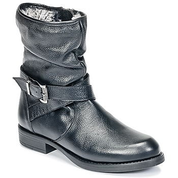 Shoes Girl Mid boots Unisa GADIN Black