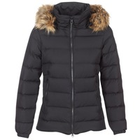 material Women Duffel coats Aigle RIGDOWN SHORT Black