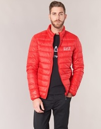 material Men Duffel coats Emporio Armani EA7 TRAIN CORE ID DOWN LIGHT JKT Red