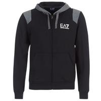 material Men sweatpants Emporio Armani EA7 TRAIN TRITONAL M HOODIE FZ Black