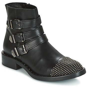 Shoes Women Mid boots Meline PESCINO Black