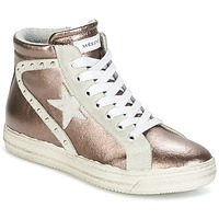 Shoes Women High top trainers Meline POLARE Bronze