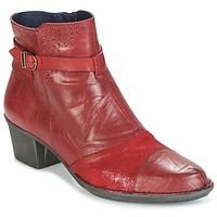 Shoes Women Ankle boots Dorking DALMA Red