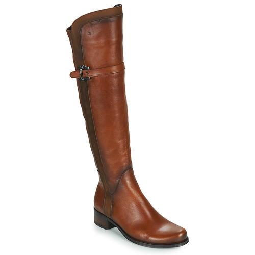 Shoes Women Boots Dorking DULCE Camel
