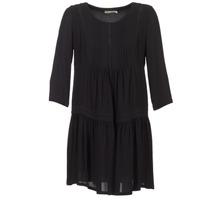 material Women Short Dresses See U Soon ROBBA Black