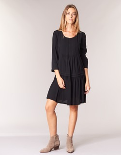 material Women Short Dresses See U Soon ROBBA Black