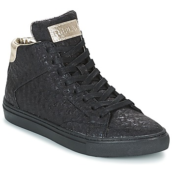 Shoes Women High top trainers Replay HALL Black