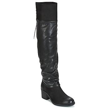 Shoes Women High boots Mjus SHAGGY Black