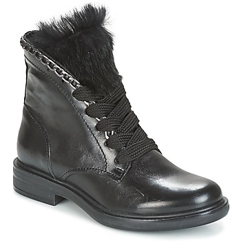 Shoes Women Mid boots Mjus CAFE LACE Black