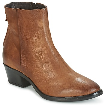Shoes Women Mid boots Mjus FRESNO ZIP Brown