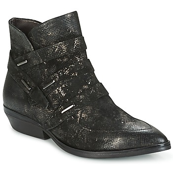 Shoes Women Mid boots Mjus CHRISSIE STRAP Black