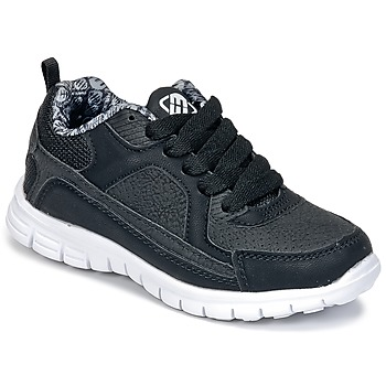 Shoes Boy Low top trainers Freegun FG VINO Black