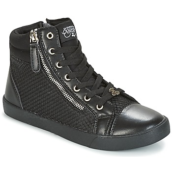 Shoes Women High top trainers Le Temps des Cerises KIM Black