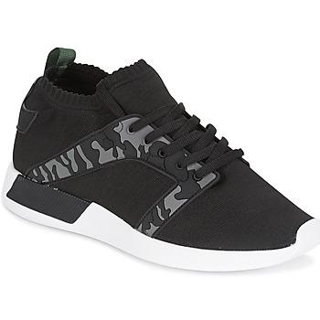 Shoes Men Low top trainers Cash Money ARMY Black / Kaki