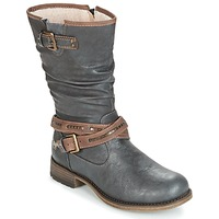 Shoes Women Boots Mustang ISALBA Graphite