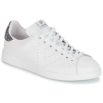 Shoes Women Low top trainers Victoria DEPORTIVO BASKET PIEL White / Grey