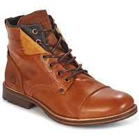 Shoes Men Mid boots Bullboxer BEN COGNAC