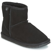 Shoes Girl Mid boots EMU WALLABY MINI Black