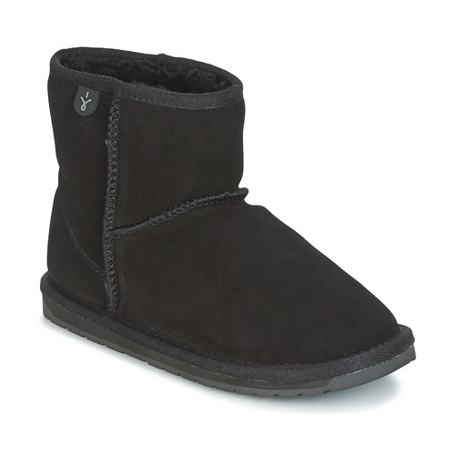 Shoes Children Mid boots EMU WALLABY MINI Black