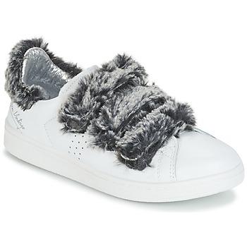 Shoes Women Low top trainers Ippon Vintage FLIGHT POLAR White / Grey