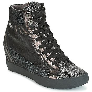Shoes Women High top trainers Mam'Zelle LOENA Black