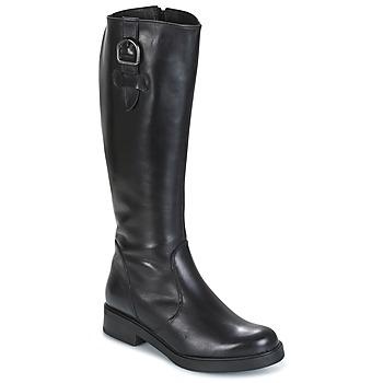Shoes Women Boots Samoa 53245-NERO Black