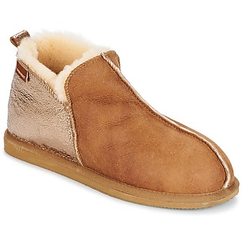 Shoes Women Slippers Shepherd ANNIE COGNAC
