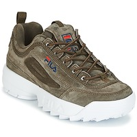 Shoes Women High top trainers Fila DISRUPTOR S LOW WMN OLIVE
