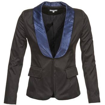 material Women Jackets / Blazers Betty London BERTHILLE Black / Marine