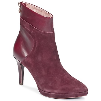 Shoes Women Ankle boots Tamaris RASALA BORDEAUX
