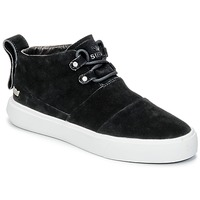 Shoes Men High top trainers Supra CHARLES Black / White
