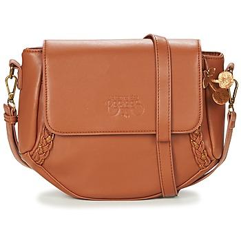 Bags Women Shoulder bags Le Temps des Cerises PHOEBE 4 CAMEL