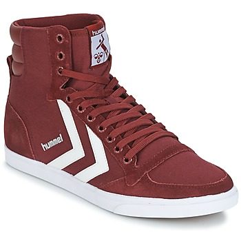 Shoes High top trainers Hummel STADIL CANEVAS HIGH BORDEAUX