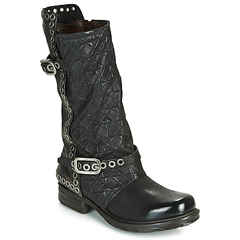 Shoes Women Boots Airstep / A.S.98 SAINT EC BUCKLE Black