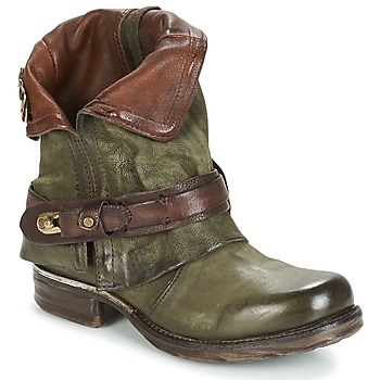 Shoes Women Mid boots Airstep / A.S.98 SAINT BIKE Kaki