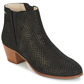 Shoes Women Ankle boots M. Moustache JEANNE.M Black