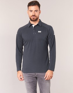 material Men long-sleeved polo shirts Helly Hansen HP SHORE Marine