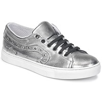Shoes Women Low top trainers Lola Espeleta NOEME Silver
