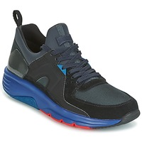 Shoes Men Low top trainers Camper DRIFT Black / MARINE