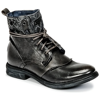 Shoes Men Mid boots Bunker BONO Grey