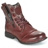 Shoes Women Mid boots Bunker SARA BORDEAUX