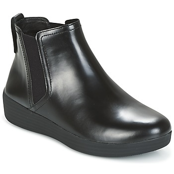 Shoes Women Ankle boots FitFlop SUPERCHELSEA BOOT All /  black