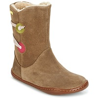 Shoes Girl Mid boots Camper TWS Brown