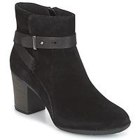 Shoes Women Derby shoes Clarks ENFIELD SARI  black / Suede