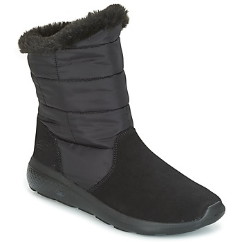 Shoes Women Mid boots Skechers ON THE GO CITY 2 PUFF  black