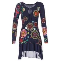 material Women Short Dresses Desigual GRUFI Blue