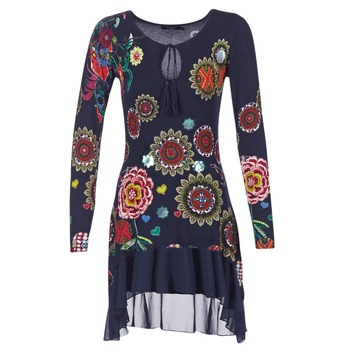 material Women Short Dresses Desigual GRUFI Blue
