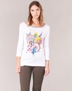 material Women Long sleeved shirts Desigual TERON White